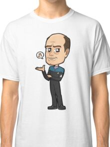 "Star Trek Voyager - EMH Emergency Medical Hologram ""The Doctor"" Classic T-Shirt"