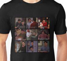 Joey Tribbiani Quotes Collage Unisex T-Shirt
