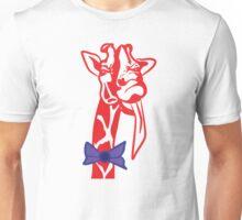 Giraffe with Attitude Unisex T-Shirt