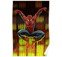 Spidey Drops By Poster
