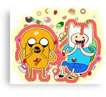 Adventure time Canvas Print