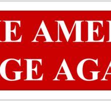 Make America Rage Again Sticker