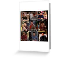 Joey Tribbiani Quote #2 Greeting Card