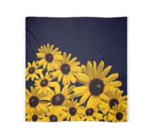 Beautiful Yellow Abstract Flowers  Scarf