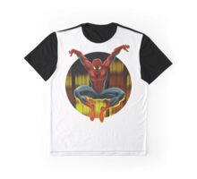 Spidey Drops By Graphic T-Shirt