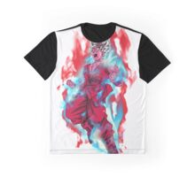 Goku God Blue Kaioken x10 Graphic T-Shirt