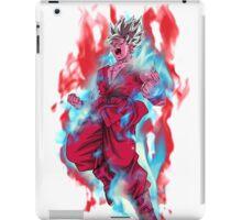 Goku God Blue Kaioken x10 iPad Case/Skin