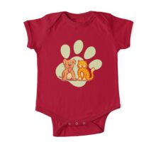 Cat and dog One Piece - Short Sleeve