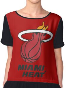 Miami Heat Chiffon Top