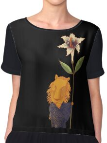 Guardian of Dreams Women's Chiffon Top
