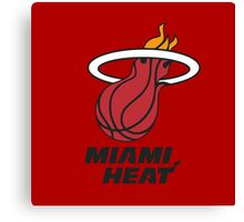 Miami Heat Canvas Print