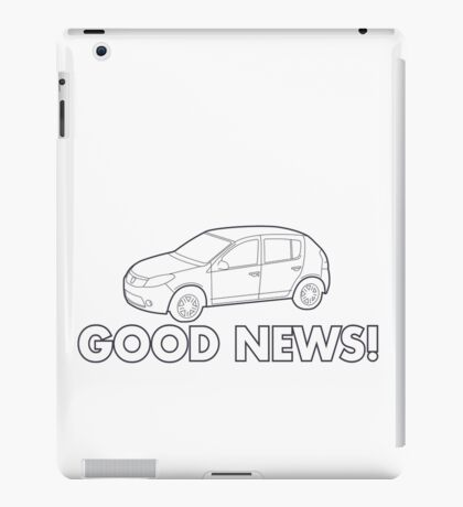 Good news! iPad Case/Skin