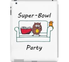 Introvert Superbowl party iPad Case/Skin