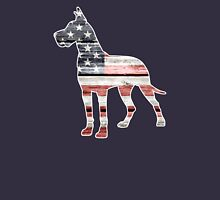 Patriotic Great Dane Unisex T-Shirt