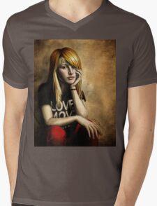 Hayley Williams Mens V-Neck T-Shirt