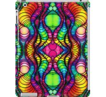 Colorful Tube Worms in Symmetry iPad Case/Skin