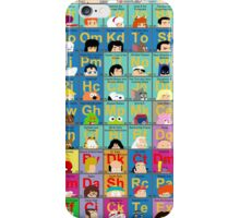 The Periodic Table of TV animation iPhone Case/Skin