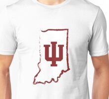 IU State Outline Unisex T-Shirt