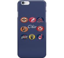 Ohio Professional Sport Teams Collage iPhone Case/Skin