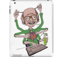 Crazy Multitasking Nerd iPad Case/Skin