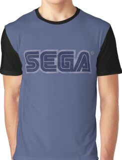 °GEEK° Sega Denim LOGO Graphic T-Shirt
