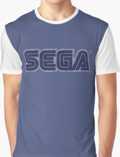 °GEEK° Sega Denim LOGO Graphic T-Shirt