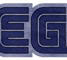 °GEEK° Sega Denim LOGO Sticker