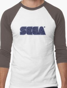 °GEEK° Sega Denim LOGO Men's Baseball ¾ T-Shirt