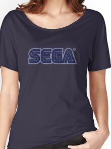 °GEEK° Sega Denim LOGO Women's Relaxed Fit T-Shirt