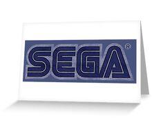 °GEEK° Sega Denim LOGO Greeting Card