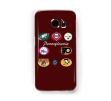 Pennsylvania Professional Sport Teams Collage  Samsung Galaxy Case/Skin