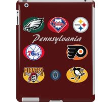 Pennsylvania Professional Sport Teams Collage  iPad Case/Skin
