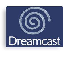 °GEEK° Dreamcast Denim LOGO Canvas Print