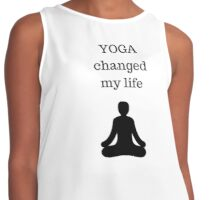 YOGA changed my life Contrast Tank