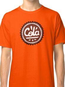Cola Bottle Tops Pattern Classic T-Shirt