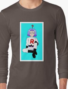 James is confused  Long Sleeve T-Shirt
