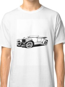 Old car carriage vintage, steampunk, old vehicle illustration Classic T-Shirt