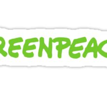 Greenpeace Sticker