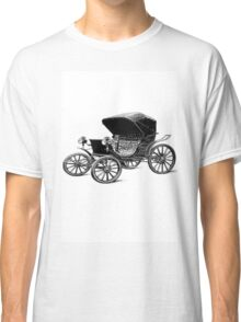 Old car carriage vintage, steampunk, old vehicle Classic T-Shirt