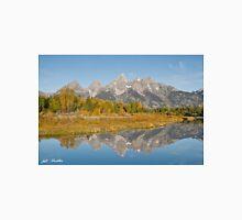Morning Reflection of the Teton Range Unisex T-Shirt