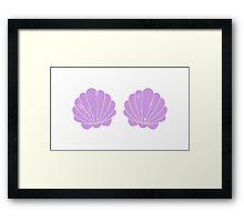 Mermaid Shells Framed Print