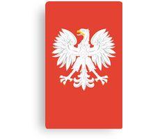 Polska Eagle Canvas Print