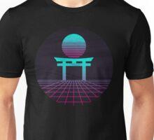 Neon Japan Circular.  Unisex T-Shirt