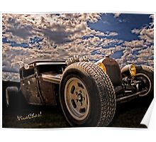 Lowbrow Rat Rod - How Low Can U Go Babe Poster