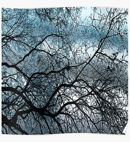 Gnarled but Strong (ice blue) Poster