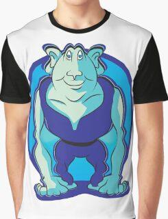 Cartoon Goblin Graphic T-Shirt
