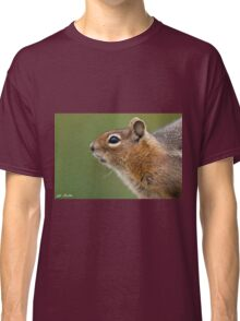 Golden Mantled Ground Squirrel Close Up Classic T-Shirt