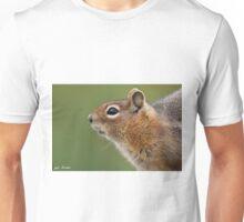 Golden Mantled Ground Squirrel Close Up Unisex T-Shirt