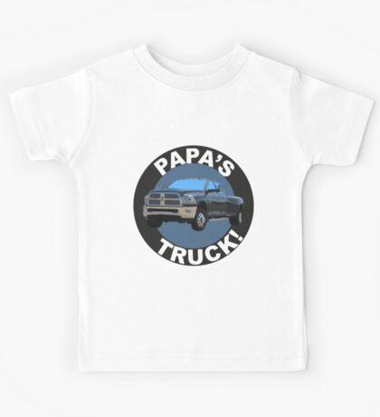 Papa's Truck 02 Kids Tee