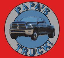 Papa's Truck 01 One Piece - Short Sleeve